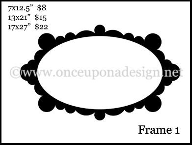 Frame price