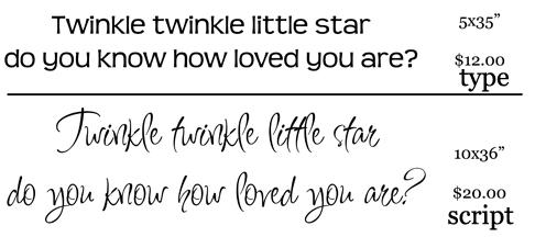 Twinkle twinkle price