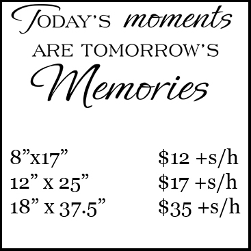 Today's moments pricing