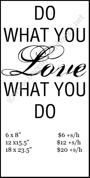 Do what you love blog