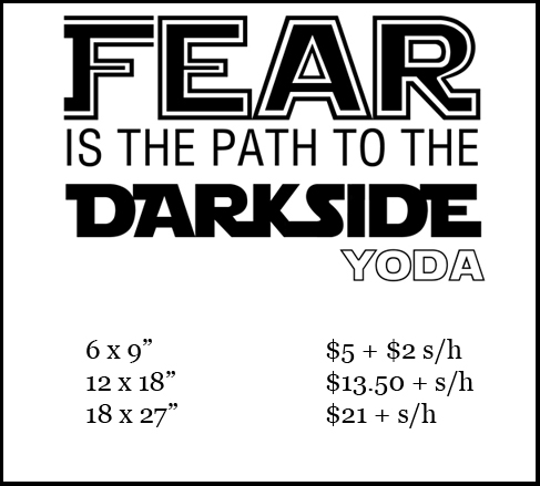 Star wars fear